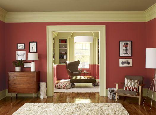 Paint Color Schemes Crisp C Living Room