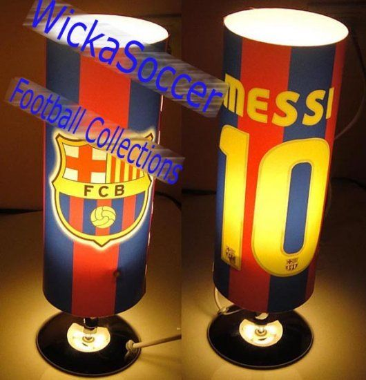 Fc Barcelona Messi Reading Lamp Jj A52 Click Image To Close