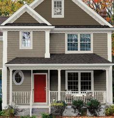 Home Exterior Color Paint Combinations