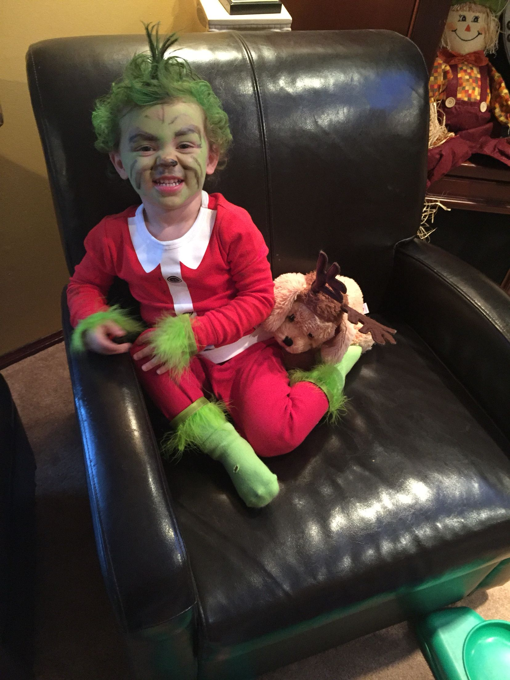 The grinch toddler Halloween costume Halloween