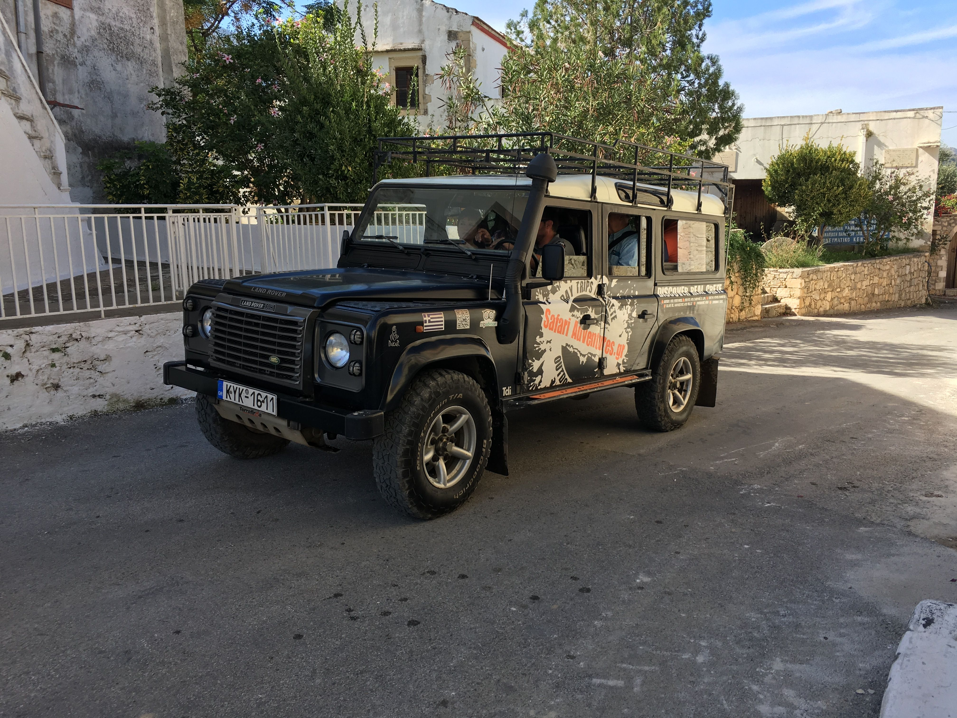 Safari Adventures Land Rover Defender 110 with guide Driver