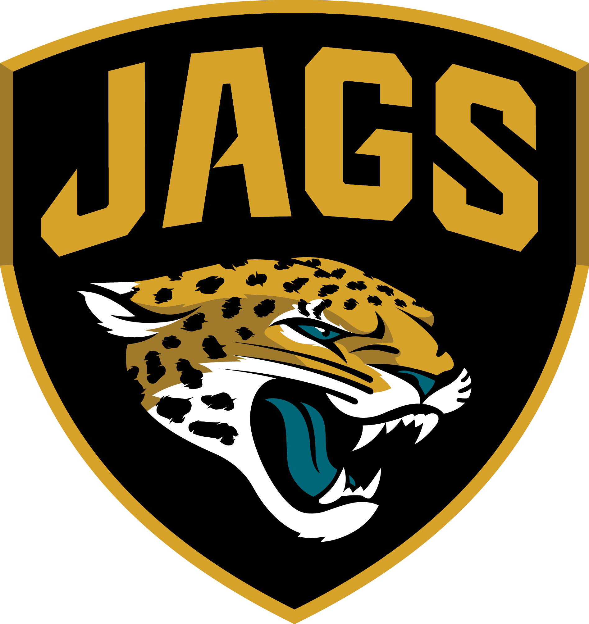 Custom or design Jacksonville Jaguars logo Iron On Decals