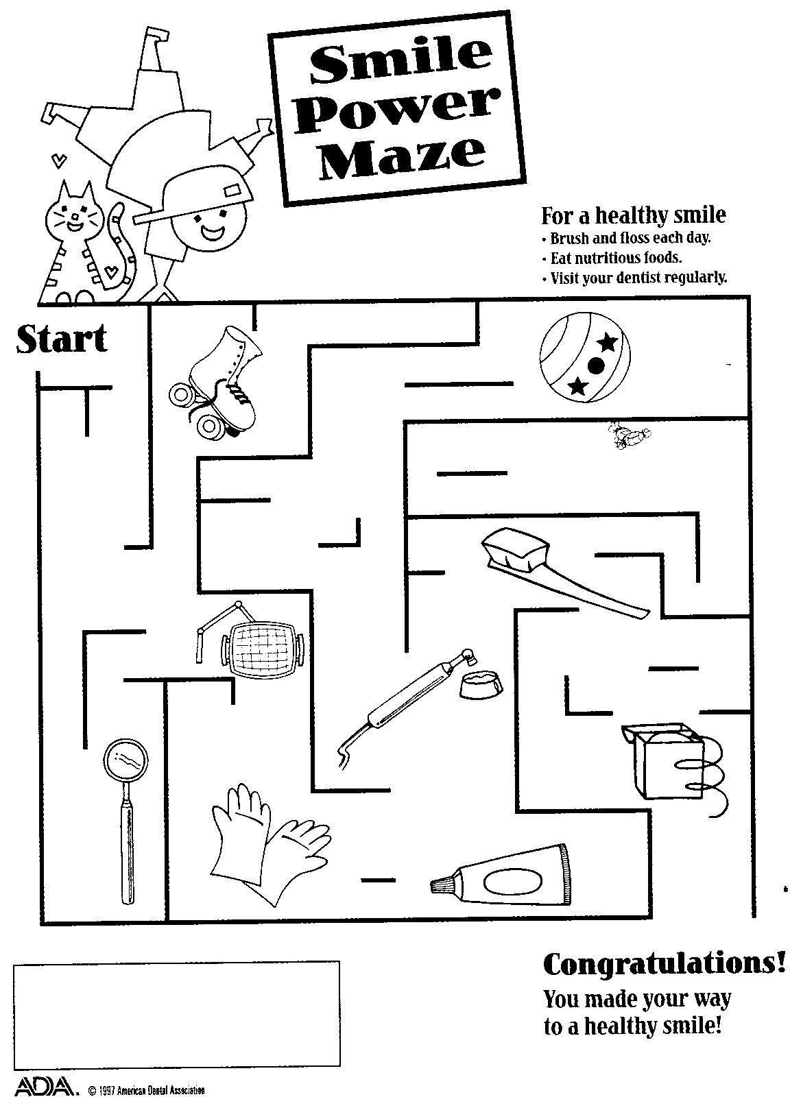 Smile Power Maze