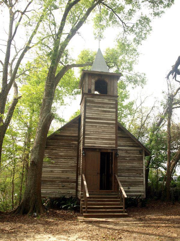 Cajun Village, New Iberia, Louisiana Beautiful Churches