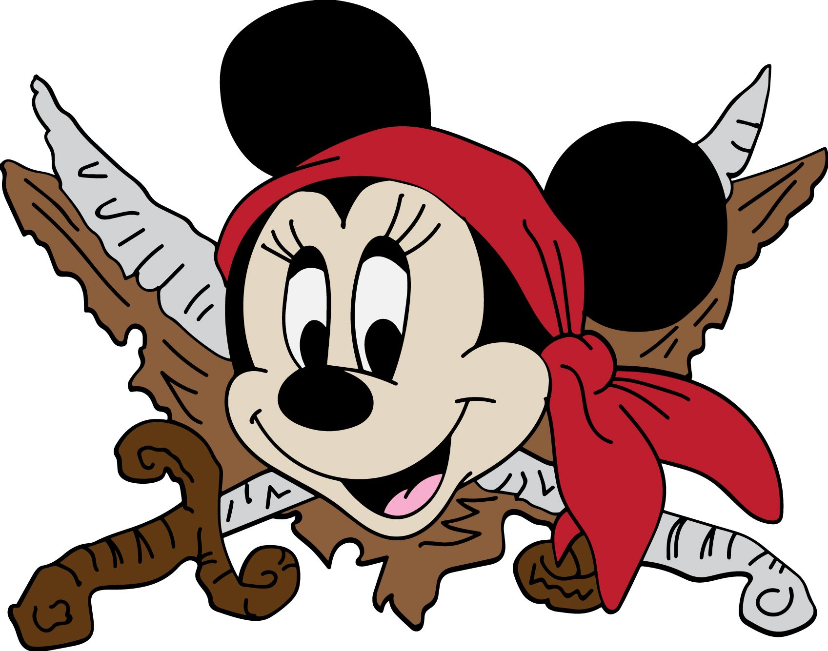 Minnie Mouse Pirate visit to download