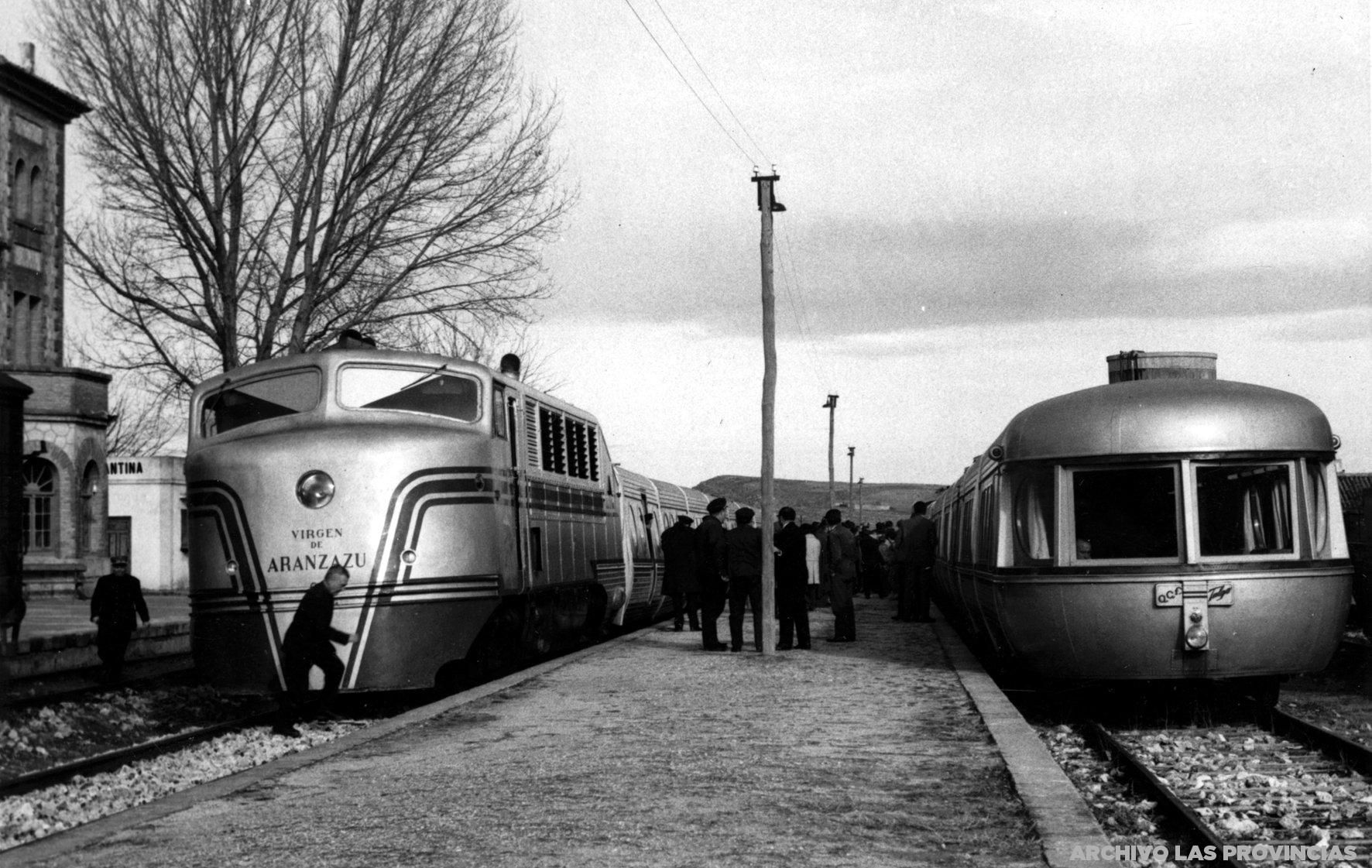 Spanish TALGO trainset. Similar trains were tested in the