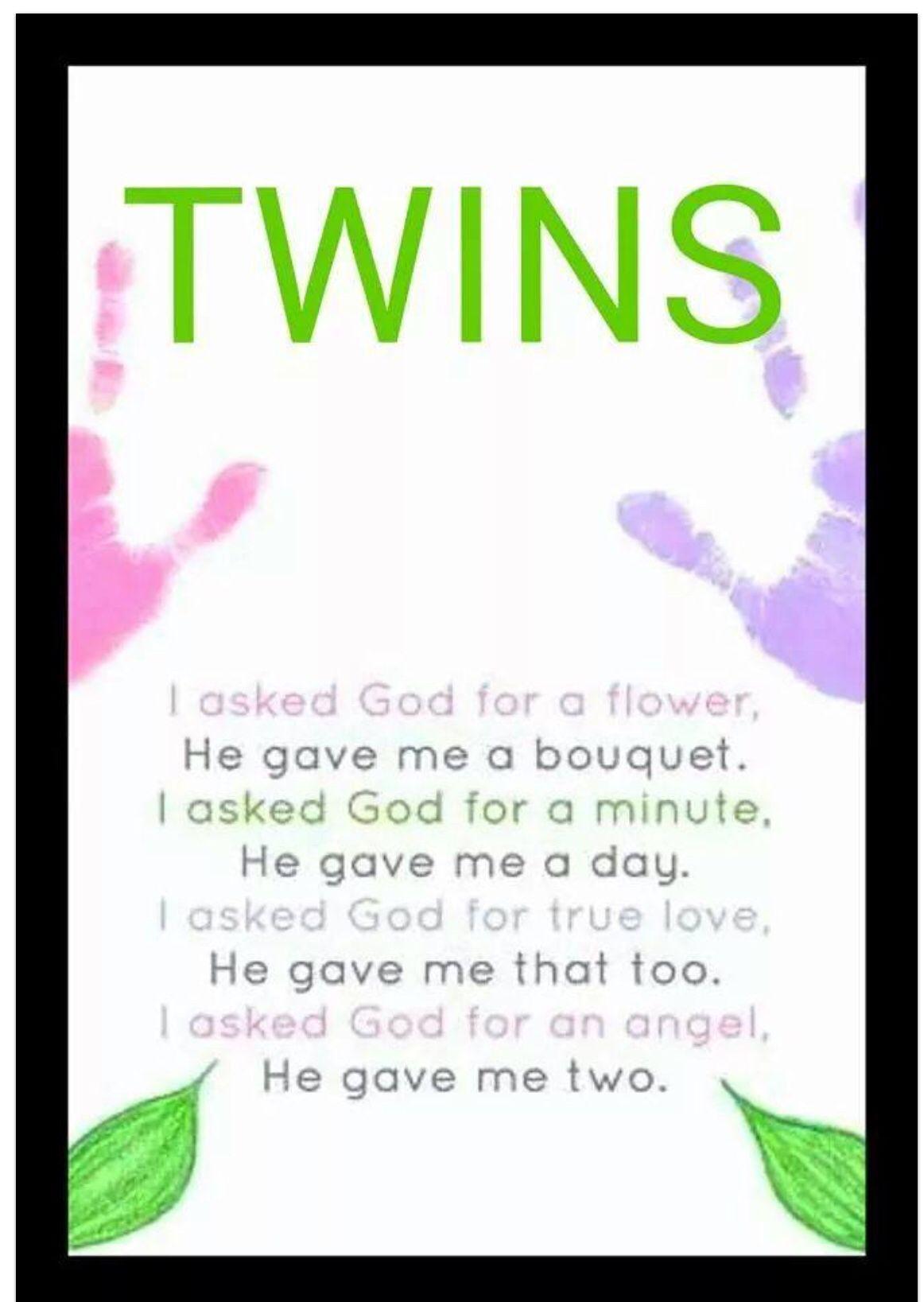 Twins poem … Pinteres…