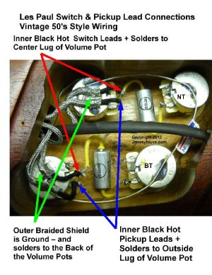 Jonesyblues Les Paul Wiring Tips & DIY Videos | Like
