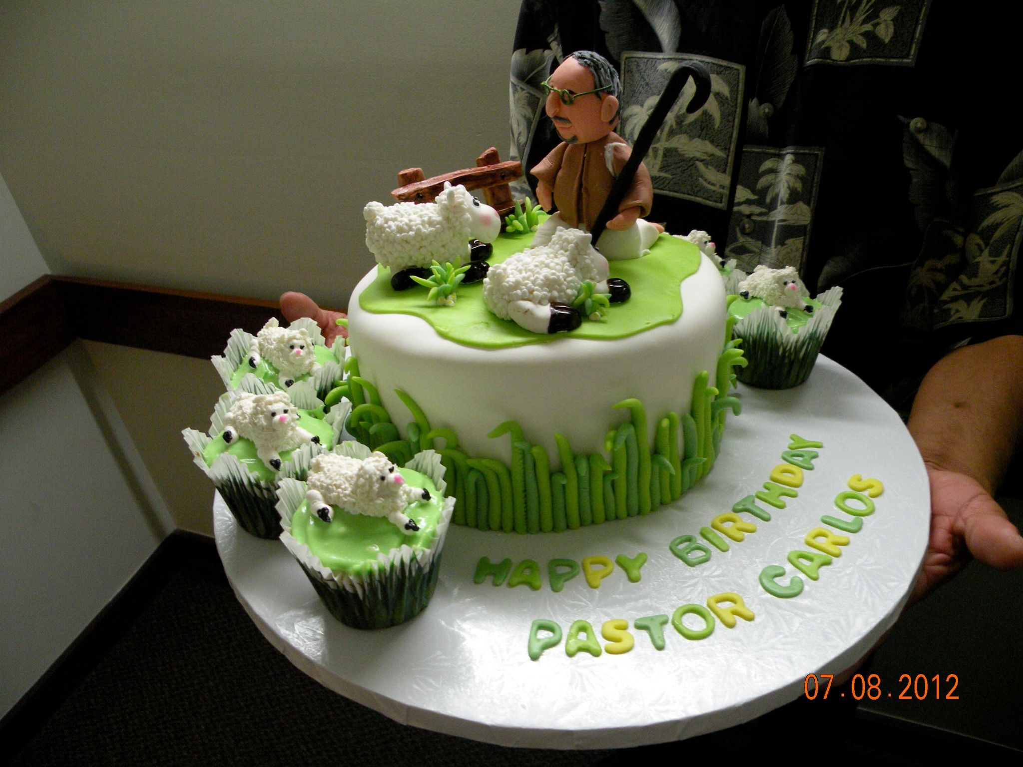My Pastor S Birthday Cake
