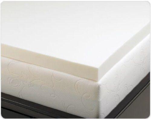 4 Inch Visco Elastic Memory Foam Mattress Pad Bed Topper Http Www