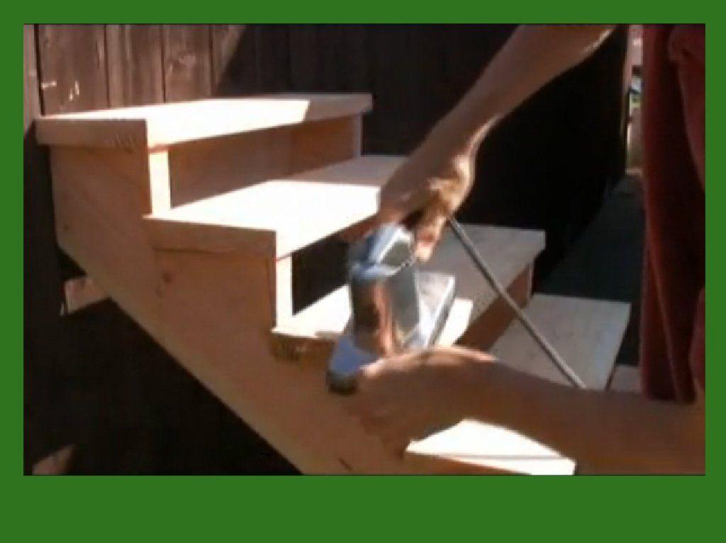 Cmo Hacer Una Escalera De Madera Woodworking