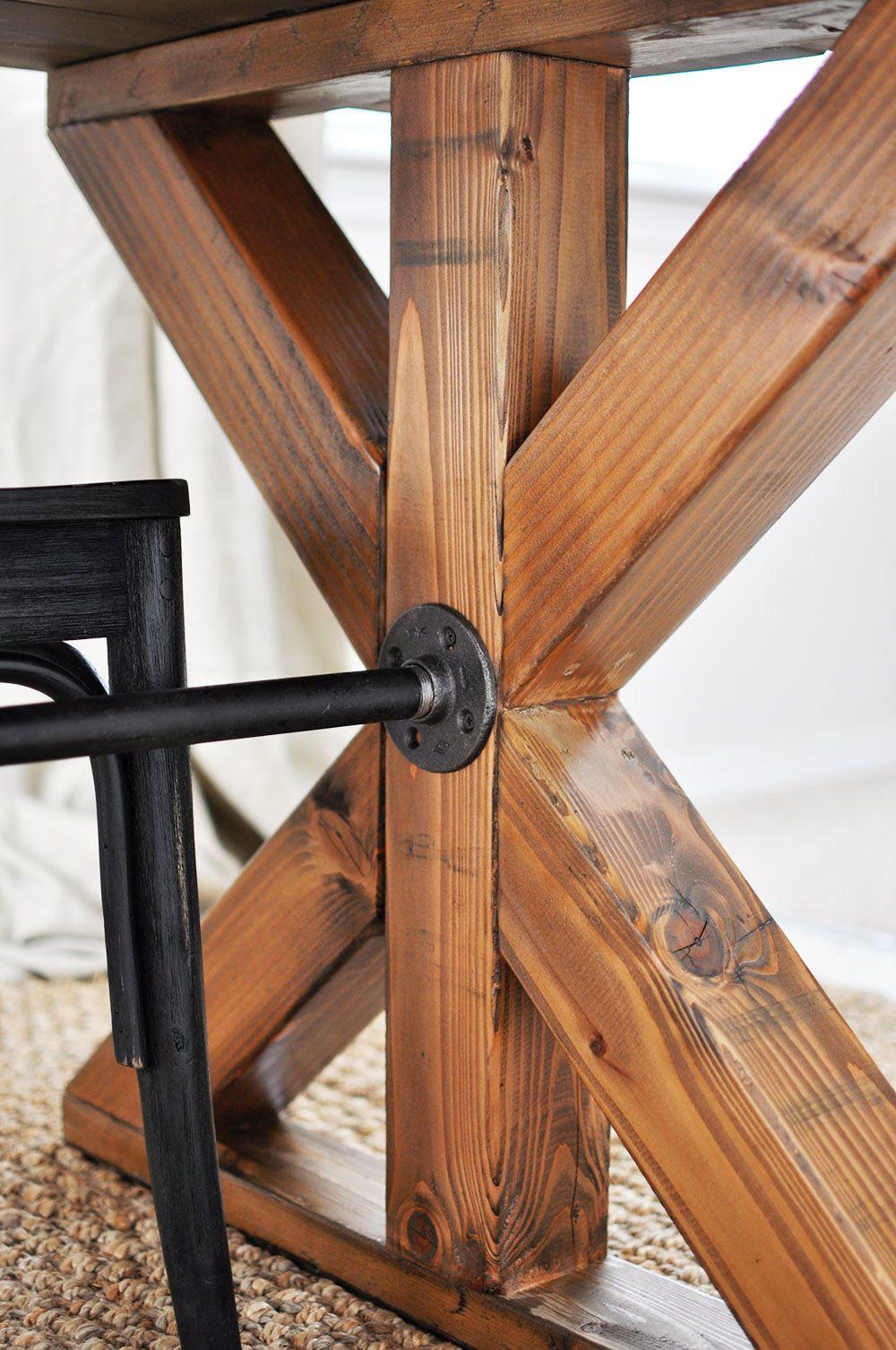 X Brace Farmhouse Table Farmhouse table, Farmhouse style