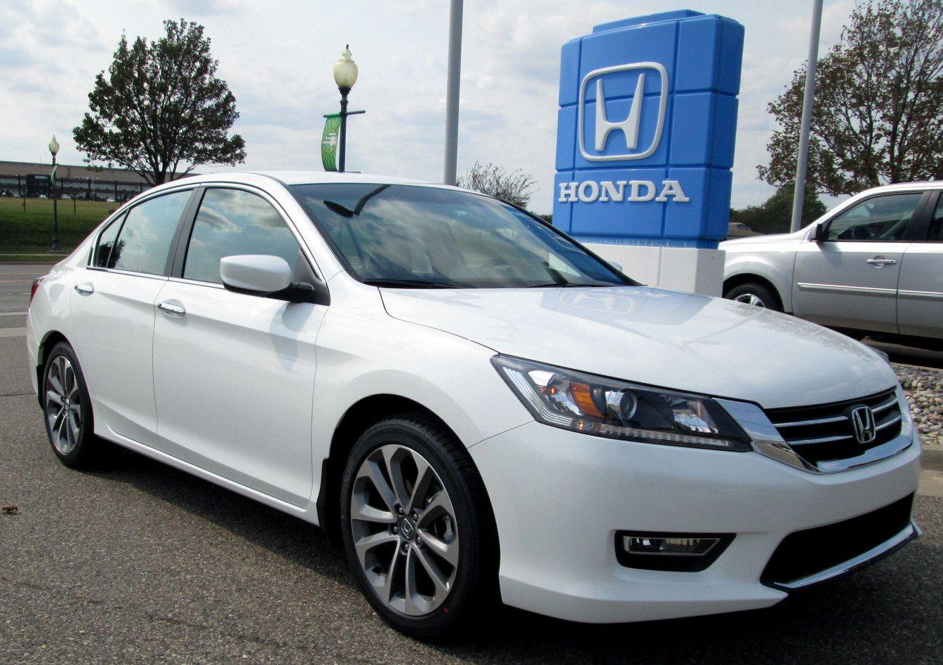 2013 White Honda Accord Touring...not an SUV but I still