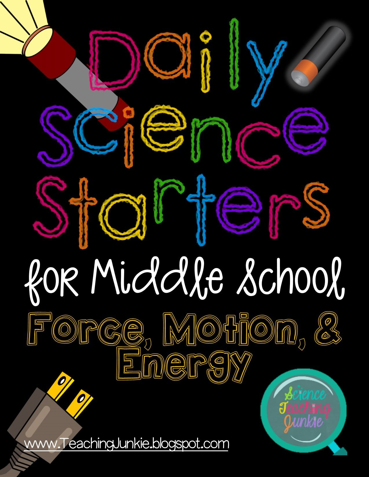 Daily Science Starters For Middle School