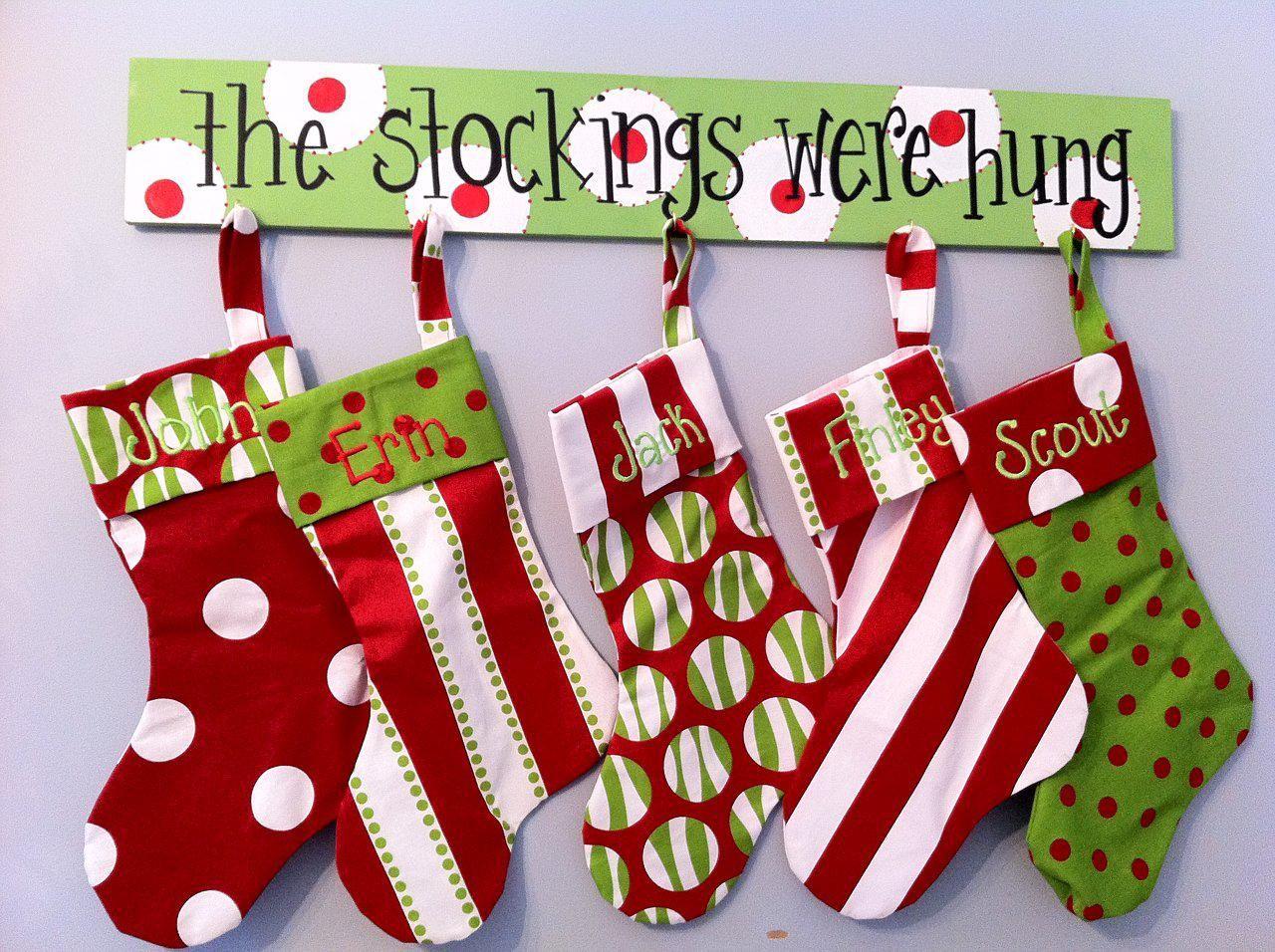 Image detail for stocking holder 6x36 wooden hanger can