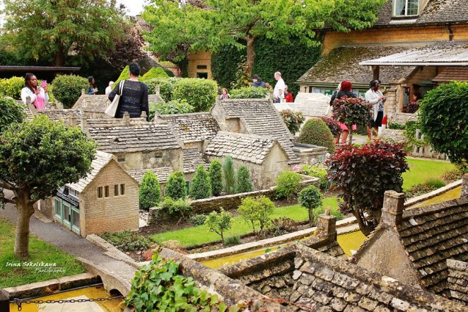 Модель деревни Бертон-на-Воде, Котсуолдс: