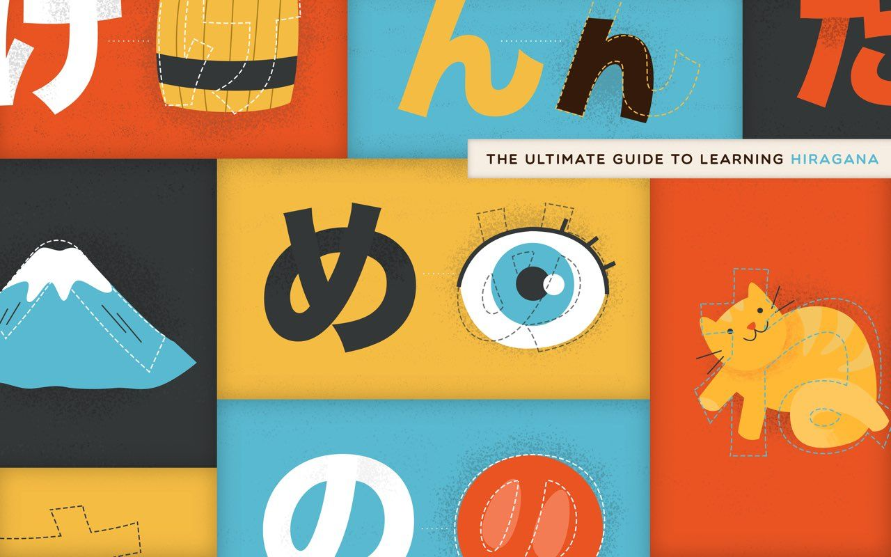 Learn Hiragana The Ultimate Guide