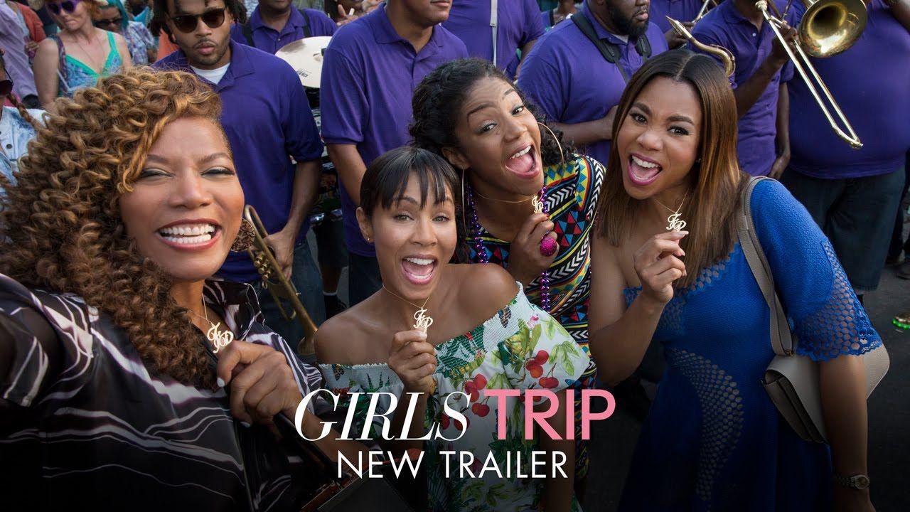 GIRLS TRIP starring Regina Hall, Queen Latifah, Jada