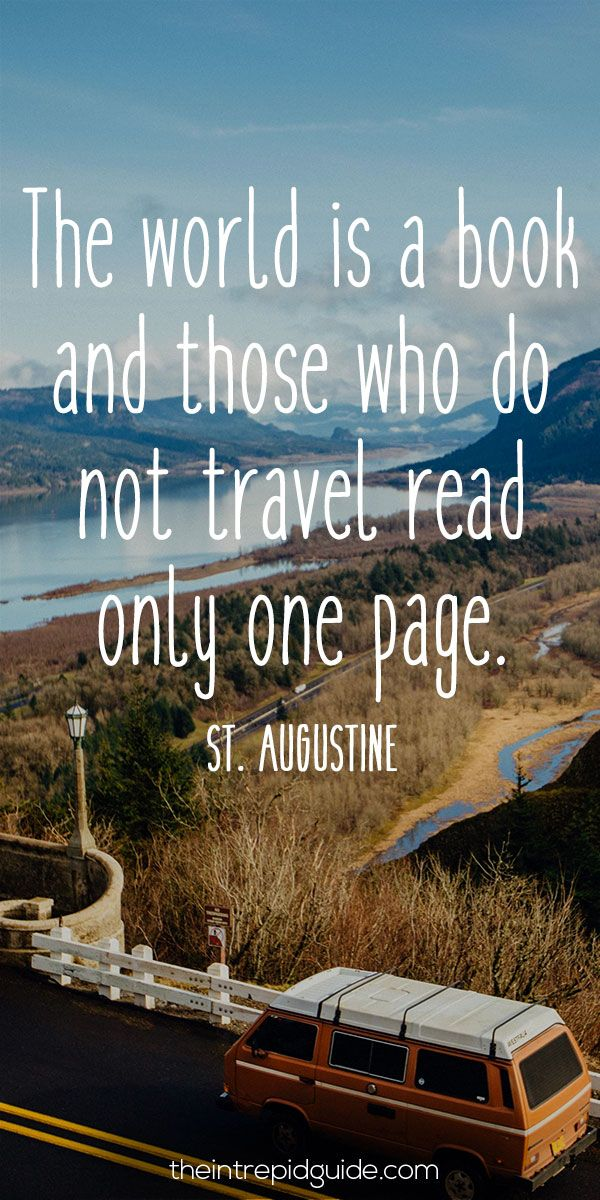 124 Inspirational Travel Quotes That Will Inspire You to
