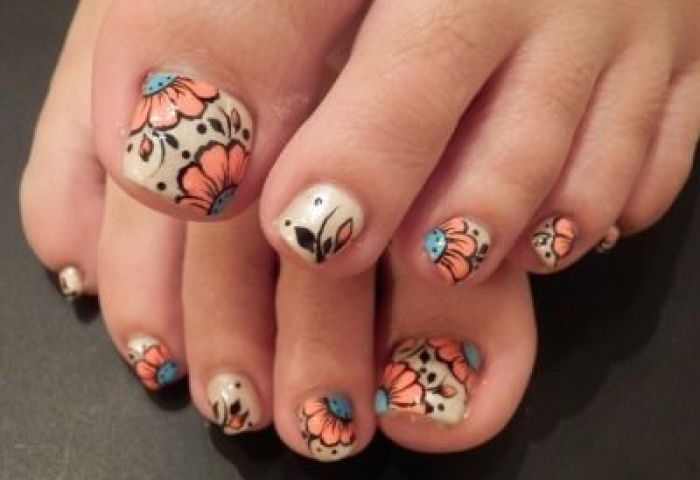 Nail Art Nails Pinterest Nail Nail Toe Nail Art And Pedicures