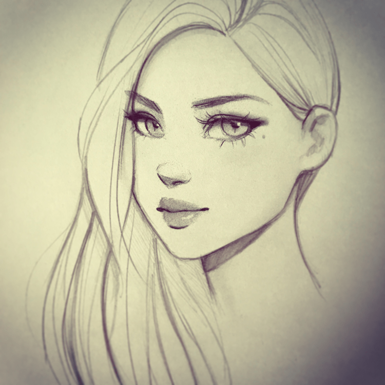 Female Character Drawing Class by