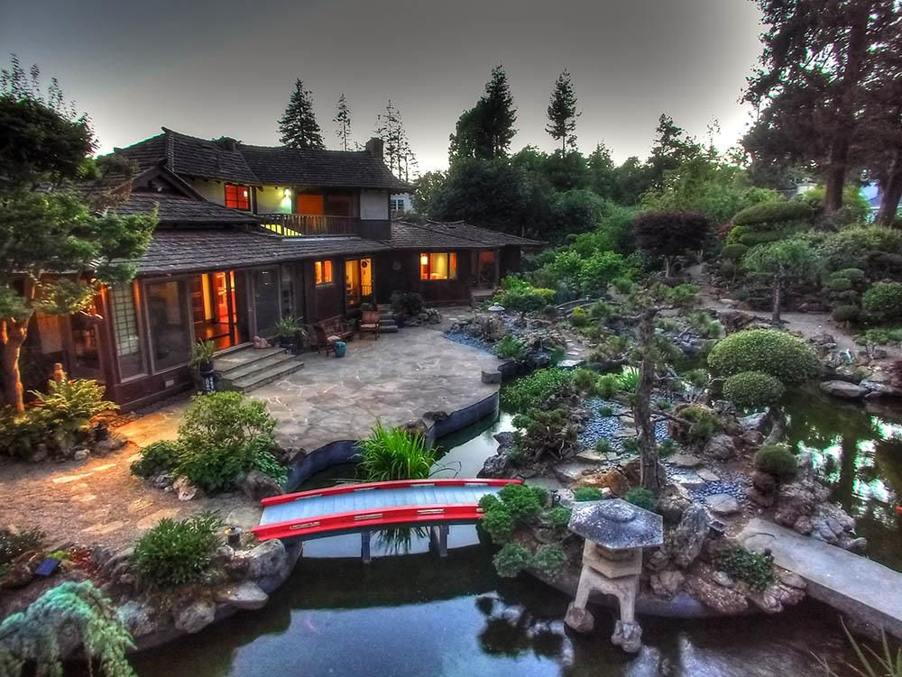 Beautiful property in San Mateo, CA features Japanese