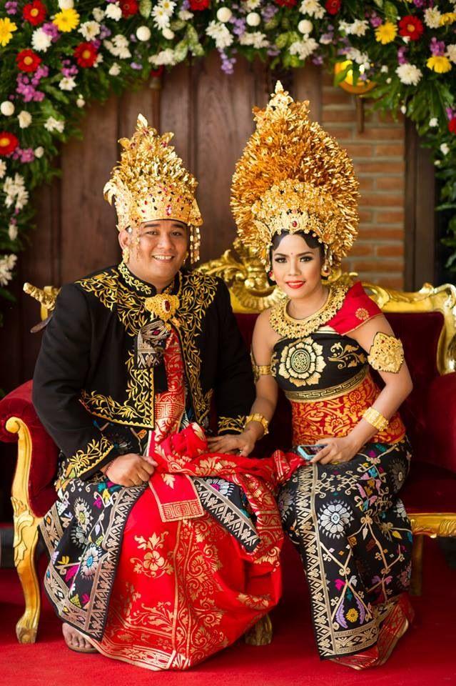 Balinese wedding 6 January 2014 Pewiwahan Pinterest
