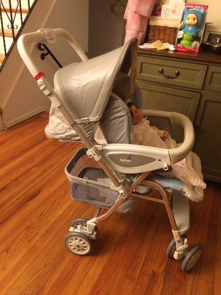 Vintage Aprica Stroller Carriage Baby 4 Reborn Doll Unused