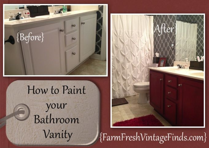 roundup of painted cabinet tutorials - farm fresh vintage finds