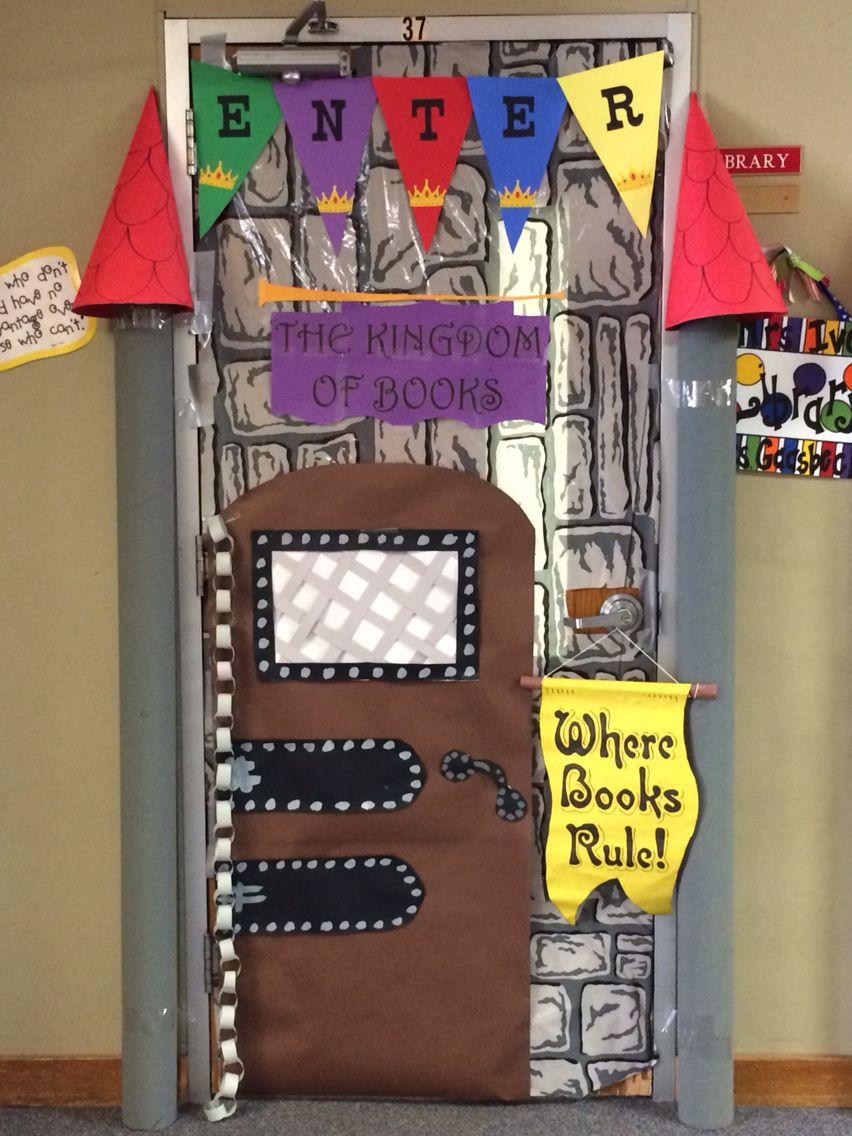 Castle door decoration Bulletin Boards Pinterest