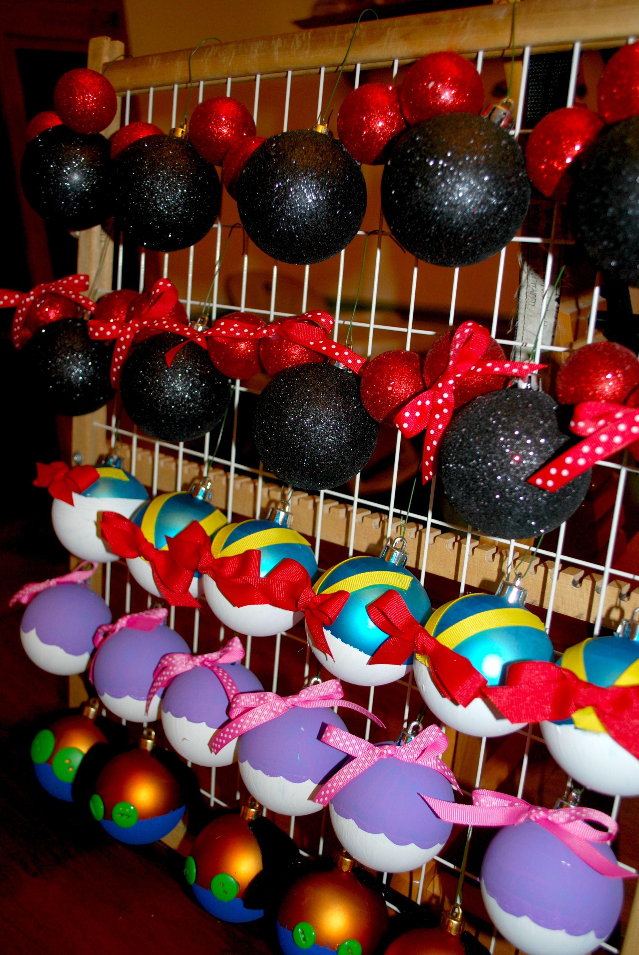 DIY Disney Ornaments … christmas Pinterest Disney