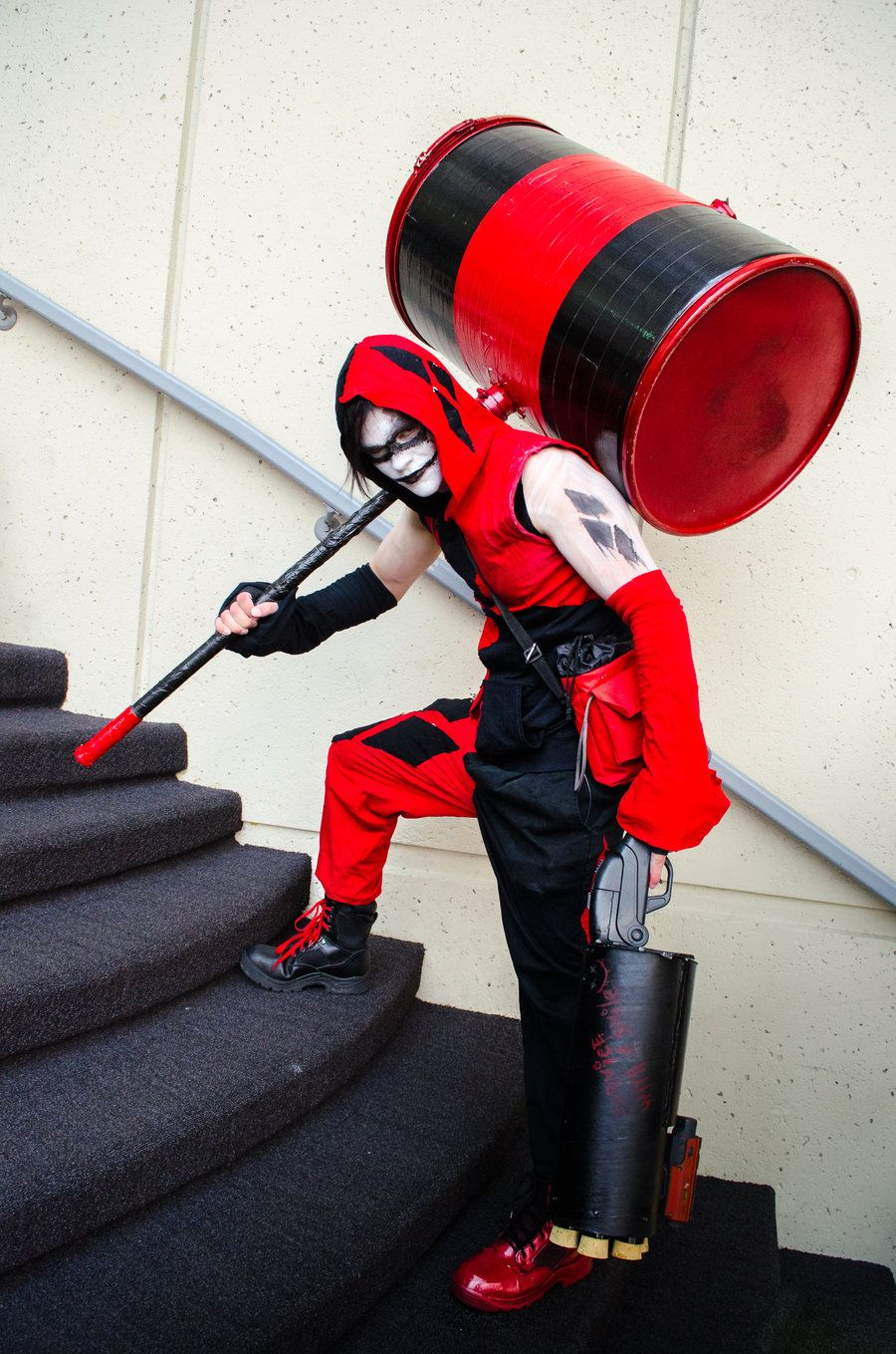 Male Harley Cosplay Man Harley Quinn by ThePrez Nerdy