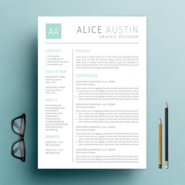 INSTANT DOWNLOAD Teacher Resume CV Template   Cover letter       INSTANT DOWNLOAD Teacher Resume CV Template   Cover letter   Reference  Letter for MS Word  Super Easy to Edit in MS Word First impressions count  wh