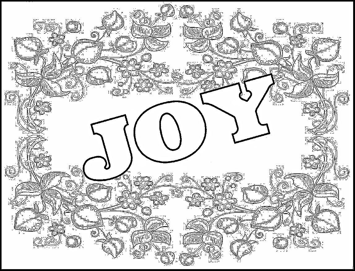 New Year S Coloring Pages Childrens Gems In My Treasure Box Joy