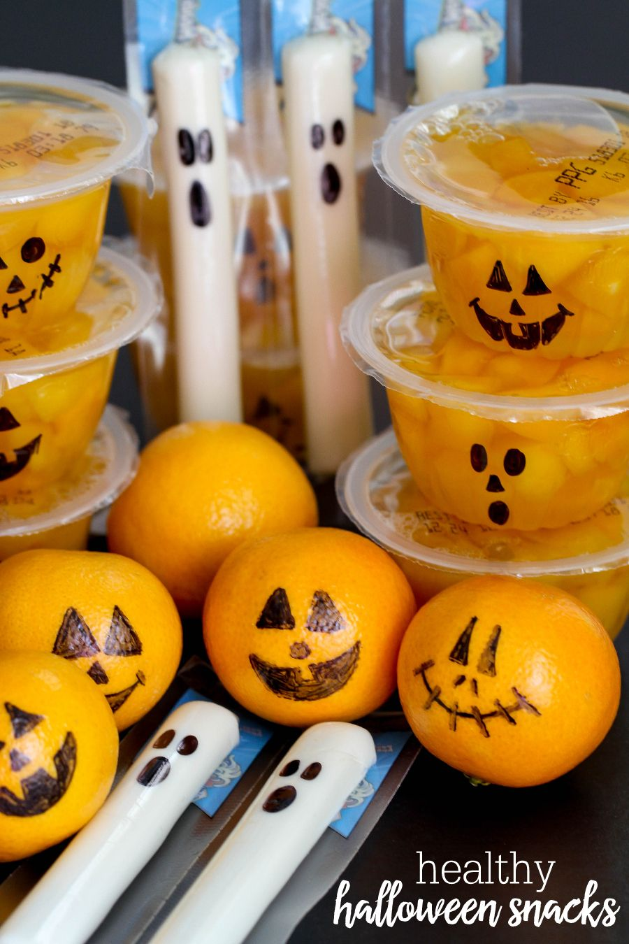 Cute and Healthy Halloween Snacks perfect for all your