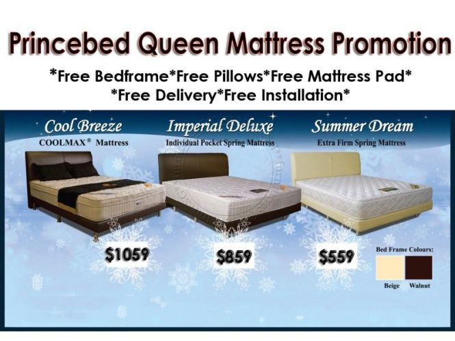 Princebed Queen Size Mattress Promotion