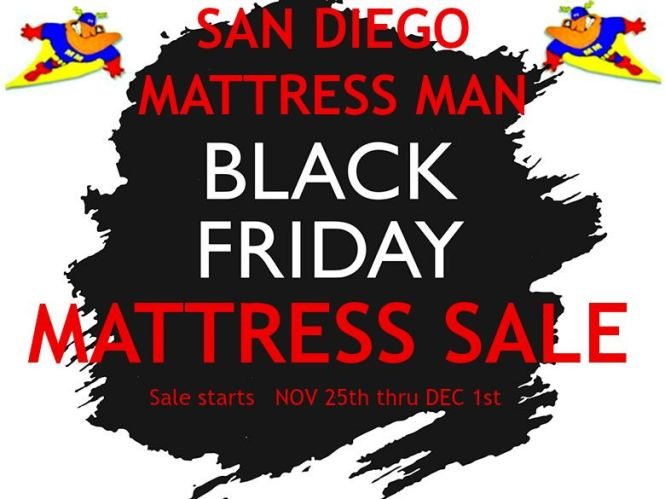 Black Friday Mattress Same Day Delivery San Go