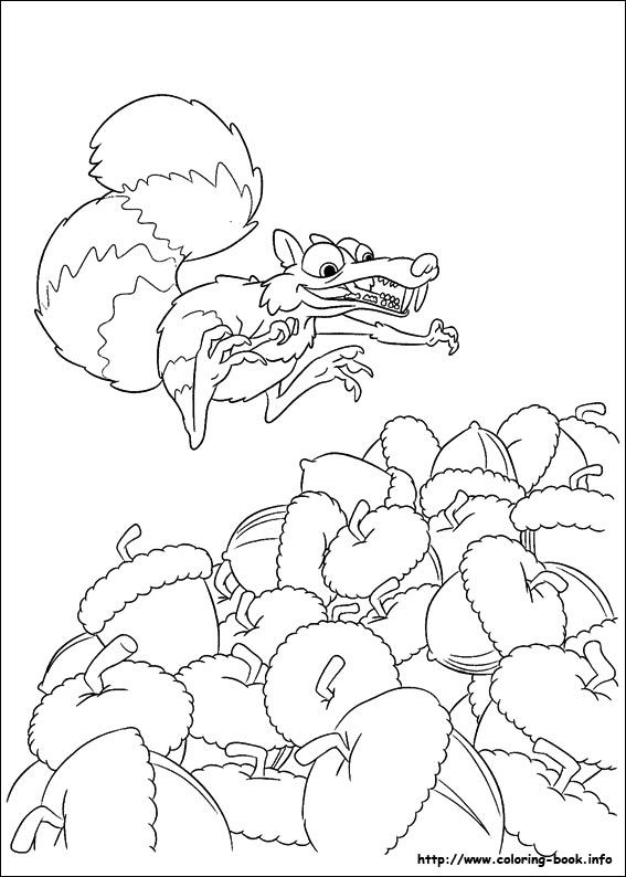 coloring page ice age 4 continental drift ice age 4 continental