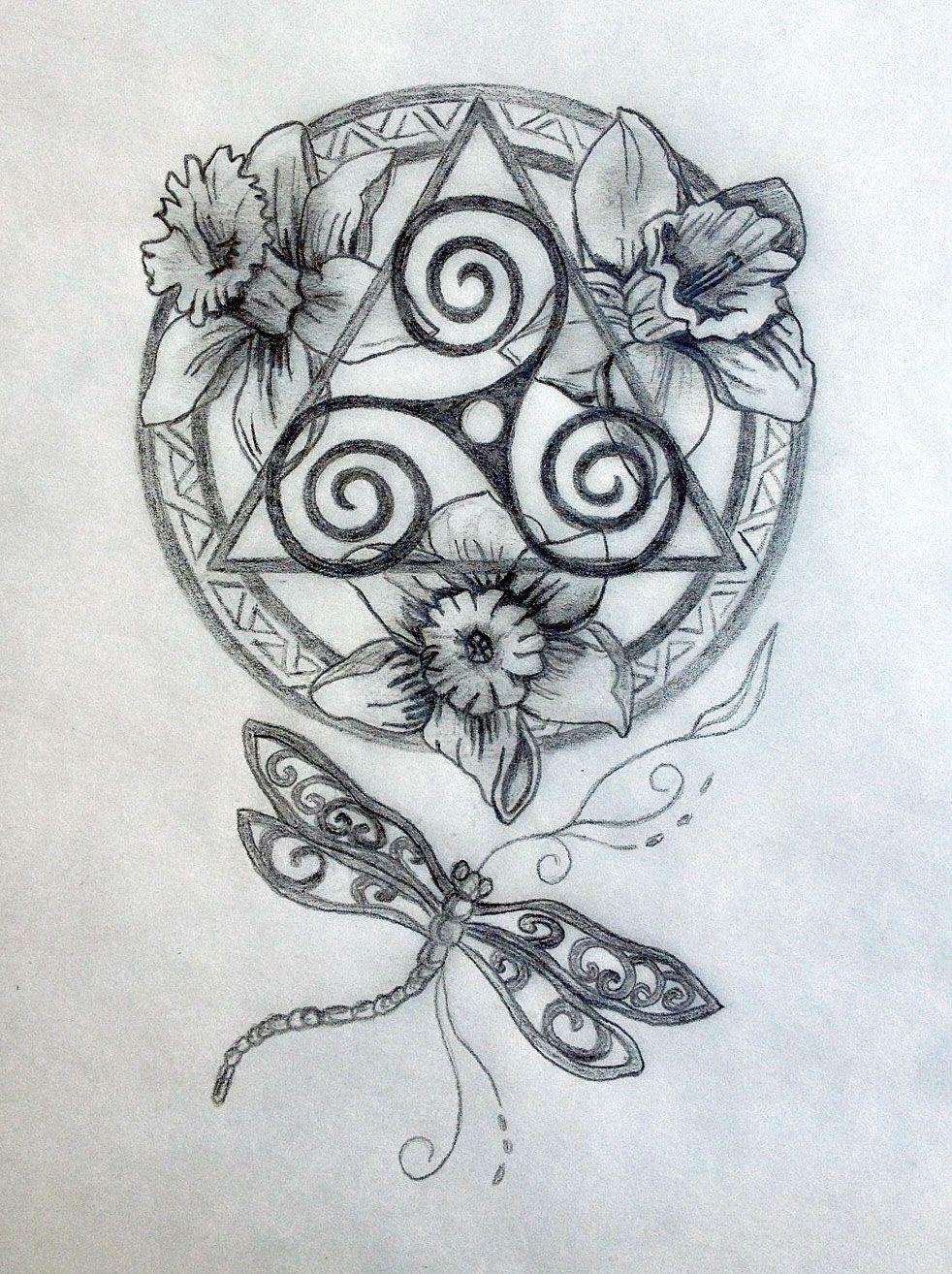 Sacred Celtic Mandala Tattoo Design Celtic mandala