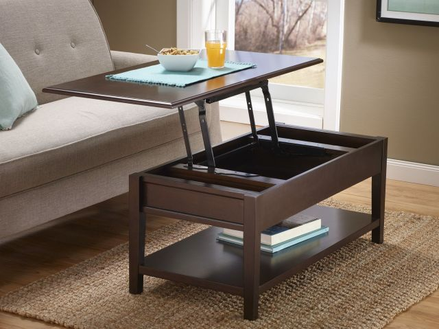 Fingerhut McLeland Design Lift Top Coffee Table