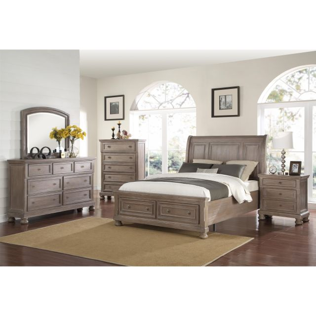 Allegra King Bedroom Group by New Classic