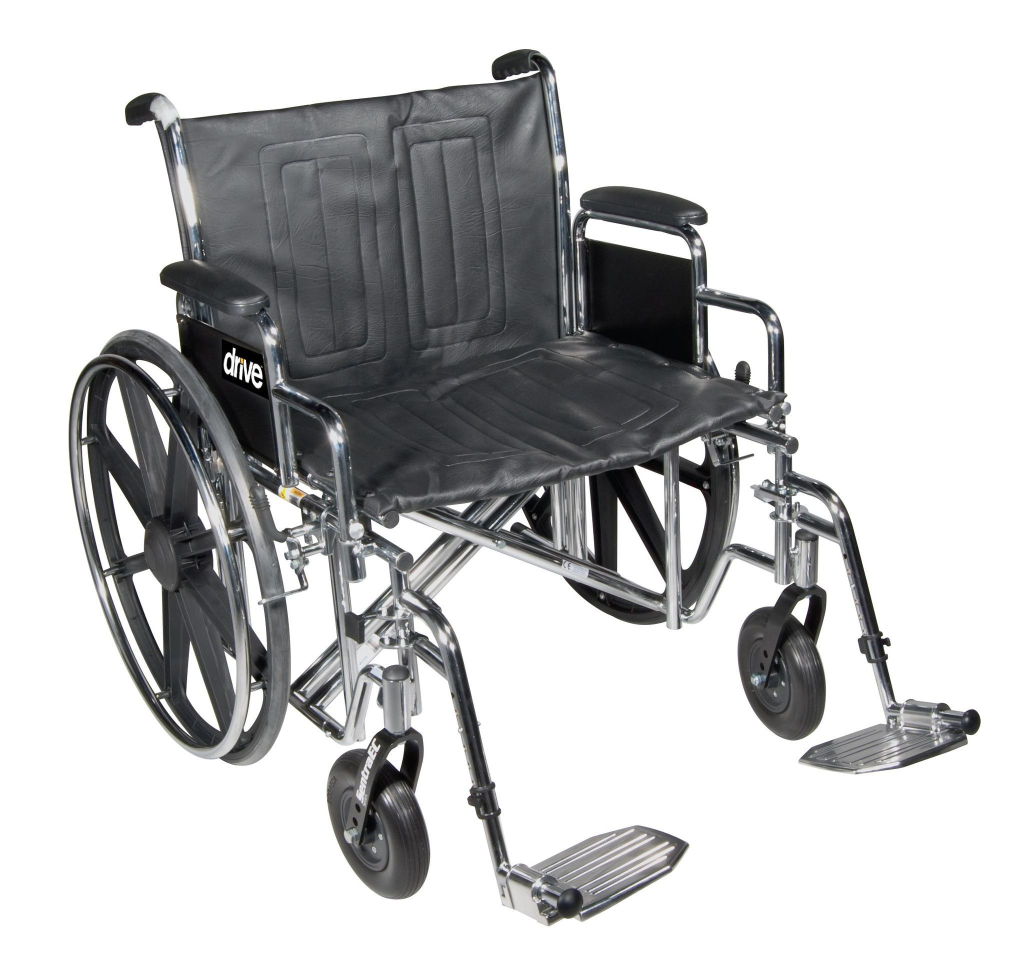 Bariatric Sentra Ec HeavyDuty Wheelchair looking at