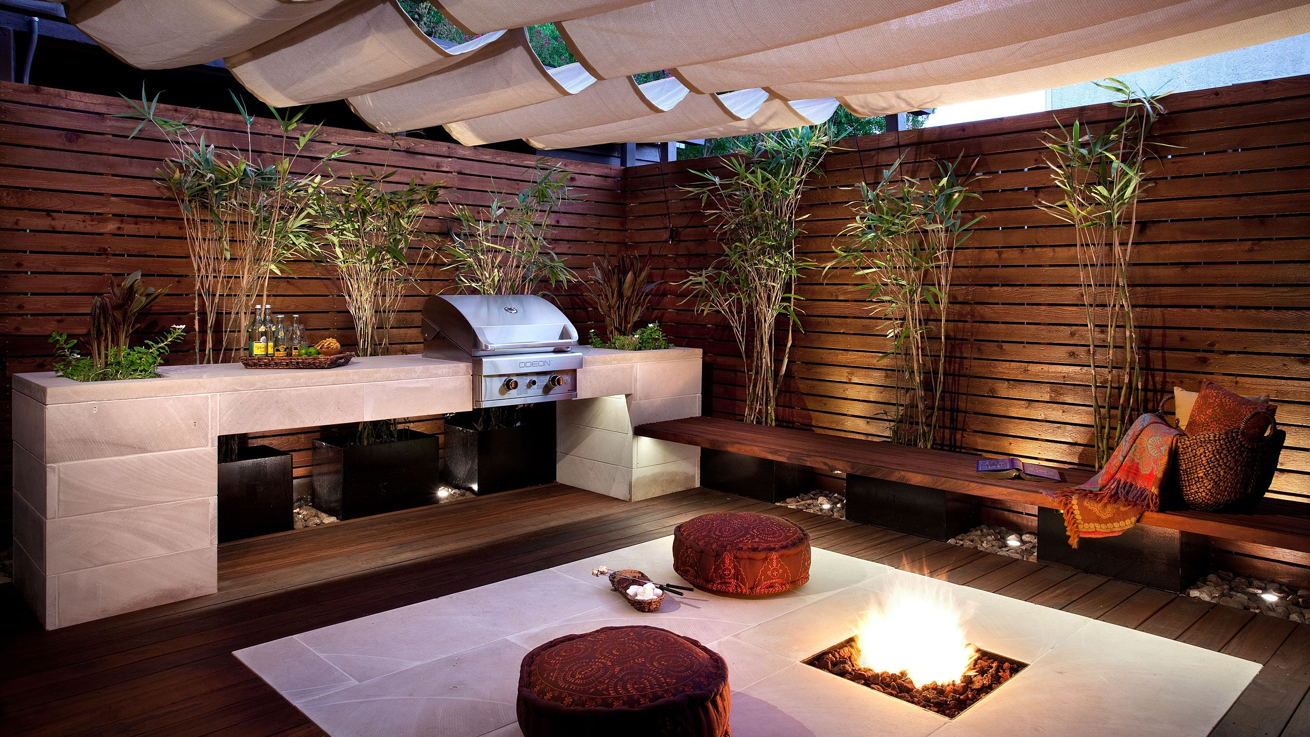 Small Outdoor Kitchen Ideas English (US) Ideas for the