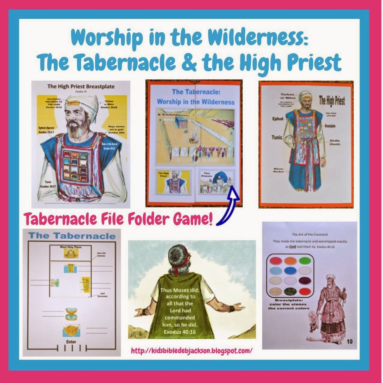 This Is A Very Condensed Lesson On The Tabernacle For The