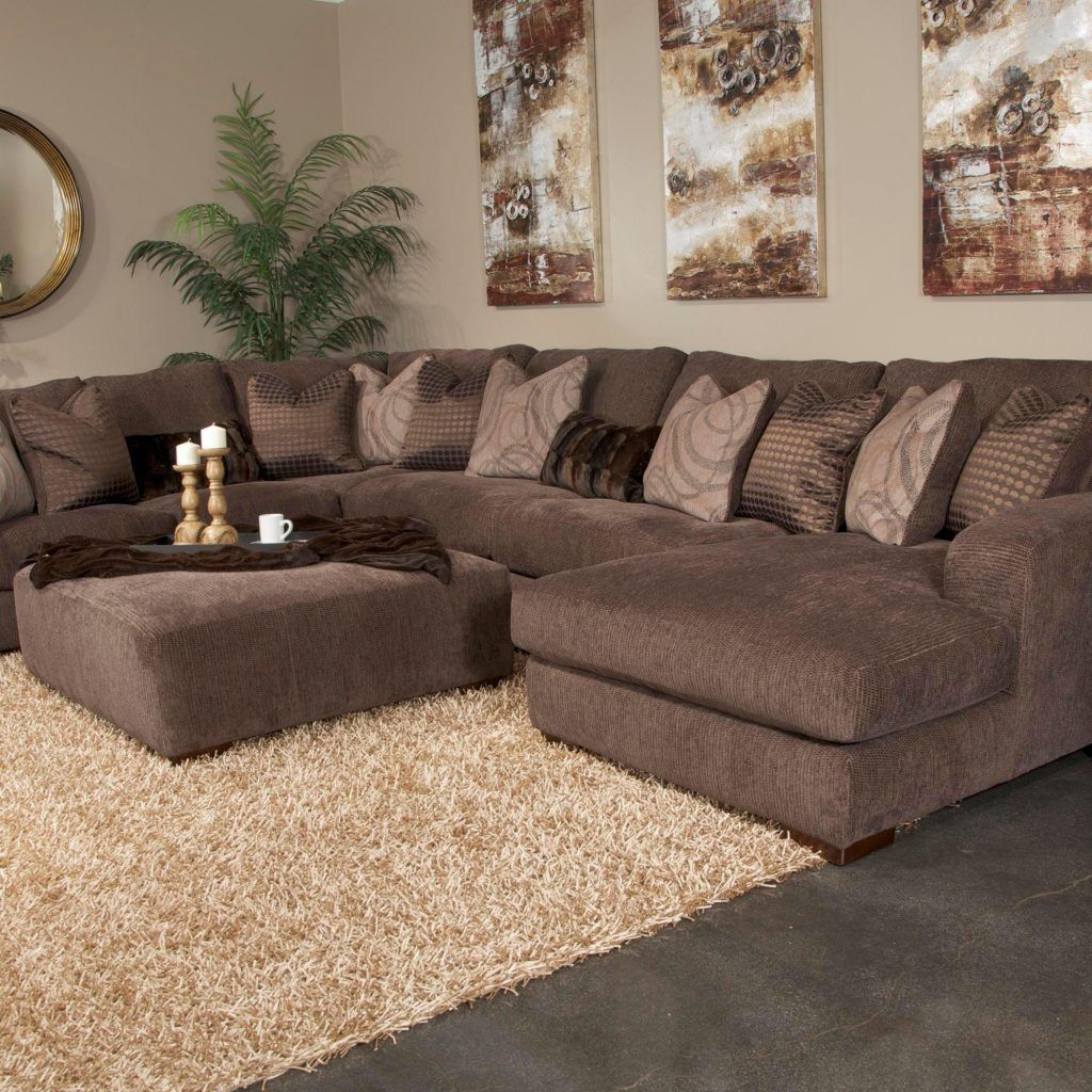 Plush Sectional Sofas Oversized Sectional Delta City Steel