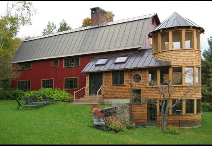 Barn Style House Plans With Silo