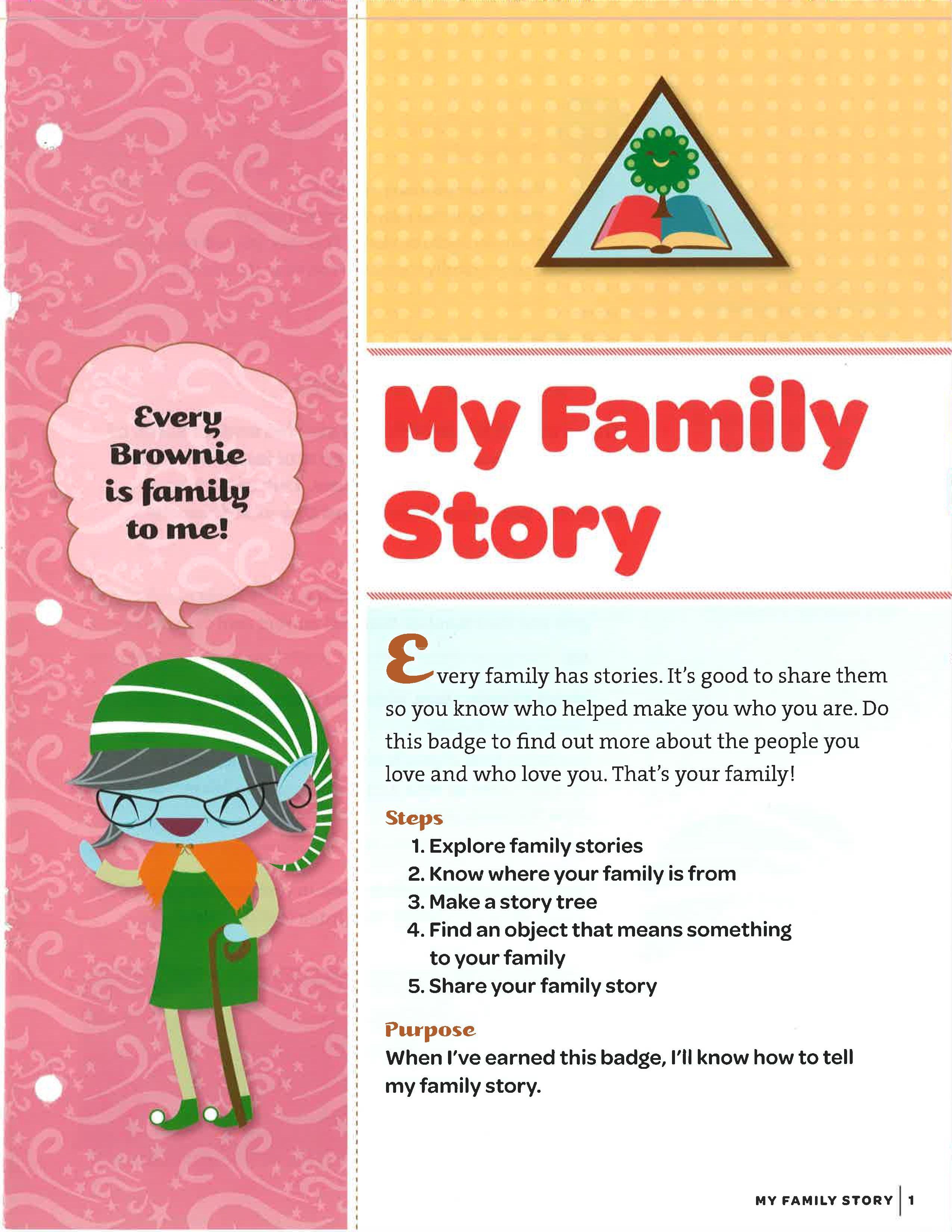 My Family Story