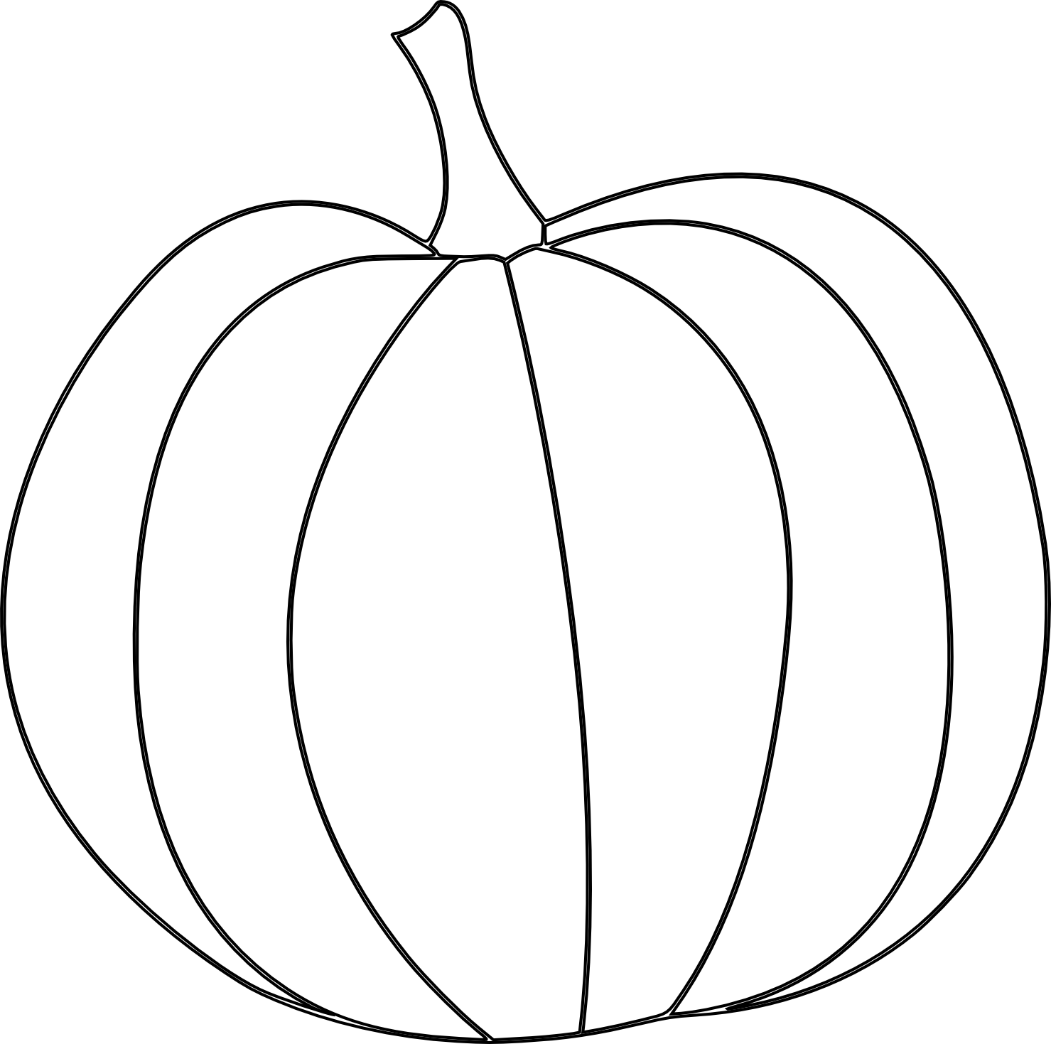 Here S A Pumpkin Digital Stamp For Fall And Thanksgiving