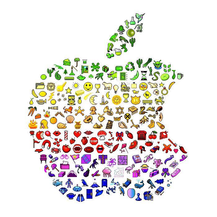 Apple emoji Color Overload Pinterest Emojis and Apples