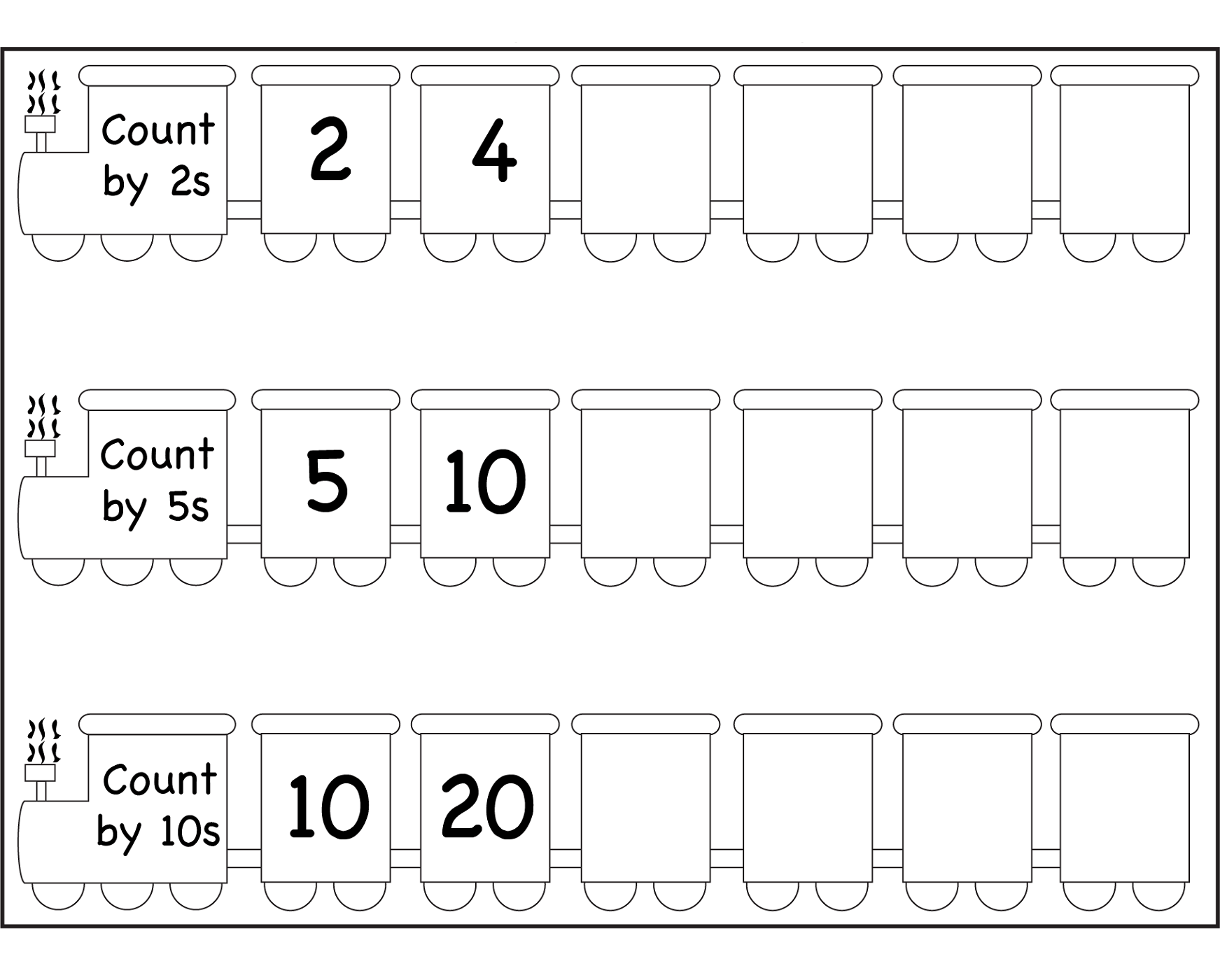 Afbeeldingsresultaat Voor Count By 2s